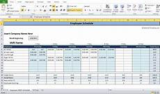 Schedule Generator Work Employee Shift Schedule Generator Excel Template Shift