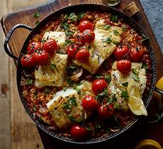 joe wicks post workout risotto with cod healthy food guide