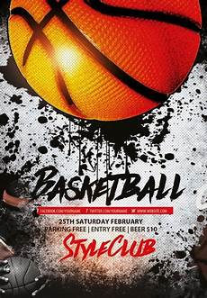 Basketball Flyer Basketball Free Sport Flyer Template Download Flyer