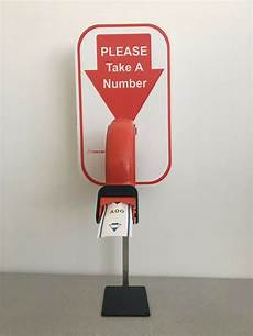 Take A Number Template Take A Number Ticket Dispenser Kit Includes Quot Stand