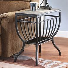 Signature Design By Antigo Chair Side End Table Black Signature Design By Antigo Chair Side End Table
