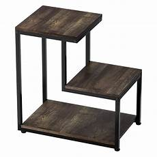 ladder shaped end table 3 tier sofa side table coffee