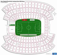 Gillette Stadium Soccer Seating Chart New England Revolution Seating Charts At Gillette Stadium