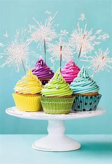 Card Image Sparkling Cupcakes Blank Birthday Card Greeting Cards