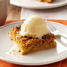 great pumpkin dessert recipe taste of home