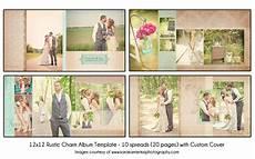 Wedding Album Design Templates Rustic Charm 12x12 Wedding Album Template 10 Spread