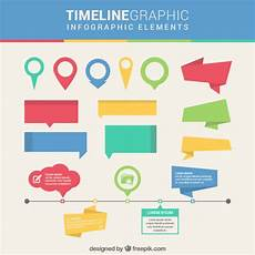 Infographic Elements Timeline Infographic Elements Free Vector