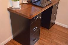 diy office desk for more personalized room settings