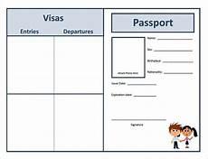 Passport Template Download Passport Template Download Free Amp Premium Templates