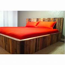 slatted pallet size bed pallet furniture plans
