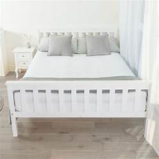 details about home treats bed in white 4 6ft solid