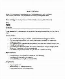 Sample Cv For Engineering Students Engineering Resume Template 32 Free Word Documents