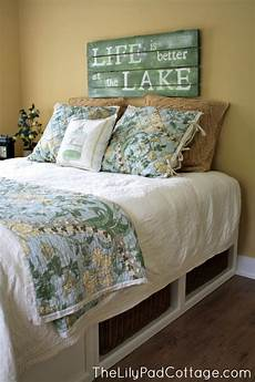 Lake House Decorating Ideas Bedroom Guest Room Decor My S House The Lilypad Cottage