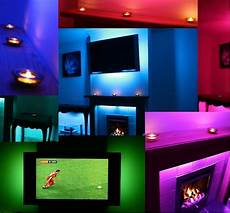 Led Light In Tv Ambient Mood Lighting Colour Changing Backlighting Sound