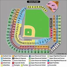 Coors Field Detailed Seating Chart Rows Colorado Rockies Tickets 2018 Rockies Tickets