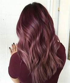 Light Brown Mauve Hair 30 Maroon Hair Color Ideas For Sultry Reddish Brown Styles