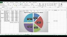 How To Explode A Pie Chart In Excel 2013 Exploded Pie Chart Youtube