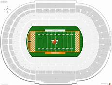 Tennessee Vols Football Seating Chart Neyland Stadium Tennessee Seating Guide Rateyourseats Com