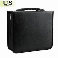 cases for cd 400 disc cd dvd organizer holder storage case bag wallet