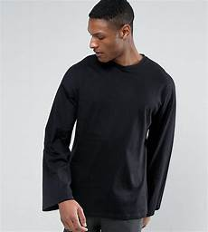 oversized sleeve tshirt asos cotton oversized sleeve t shirt in heavy