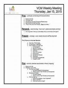 Work Agendas How To Create A Meeting Agenda Kidminscience