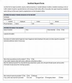 Ovr Incident Report 22 Incident Report Templates Free Word Pdf Excel Ppt