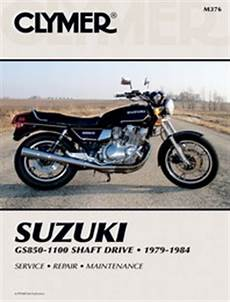 Clymer Manual Suzuki Gs850 1100 Shaft Drive 1979 1984