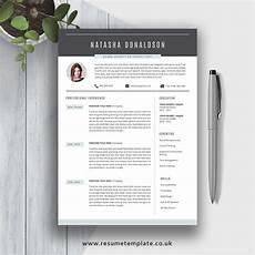 Cv Template Uk 2020 2020 Fully Editable Ms Word Resume Cv Template