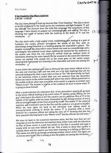 Movie Analysis Essay Example An Example Of A Micro Analysis Of A Film Essay