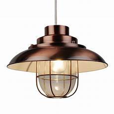 White And Copper Light Shade Contemporary Copper Fishermans Ceiling Light Pendant Shade