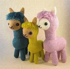 lucyravenscar crochet creatures alpaca family pattern