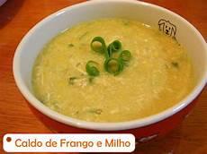 Caldo De Frango Light Weblaranja Receitas Caldo De Frango E Milho