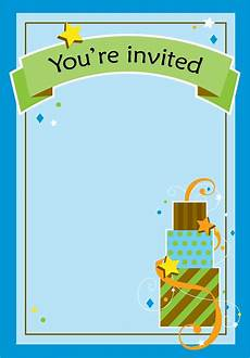 Free Printable Party Invitations For Boys Free Printable Boy Fun Birthday Invitation Boy Party