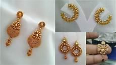 Earrings Design Images Daily Wear Simple Gold Earrings Design Ideas Beautiful