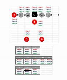 Football Defensive Chart 9 Football Depth Chart Templates Doc Pdf Excel Free