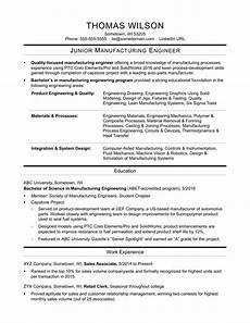 Process Engineering Resumes Sample Resume Junior Process Engineer Junior Process