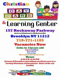 Home Daycare Ads Rickman Christian Day Care Learning Center Home