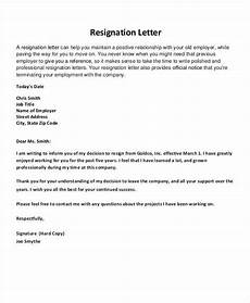 How To Do A Resignation Letter Free Thank You Resignation Letters And Pointers For