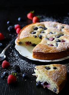easy ricotta cake with fresh berries climbing grier mountain