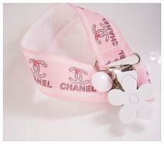 Designer Baby Dummy Clips Dummy Clip Pacifier Clip Baby Shower Gift Chanel