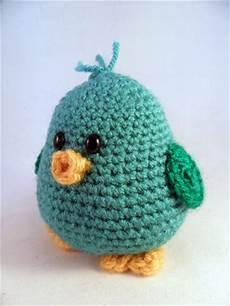 piichii the bird amigurumi pattern