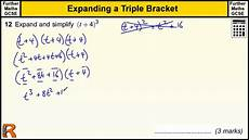 Brackets In Math Triple Bracket Expansion Gcse Further Maths Revision Exam