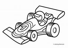 racing car transportation coloring pages for