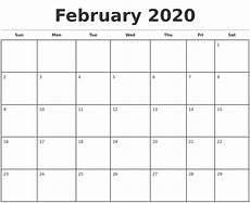 Free Printable Monthly Calendar 2020 2020 Printable Monthly Calendars Qualads