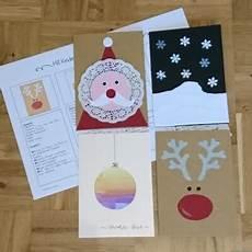 Malvorlagen Weihnachten Anleitung Ideenreise Weihnachtskartenbastelei Kleine