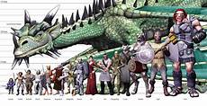 Dragon Height Chart Creature Size Chart Google Search Draw Amp Paint