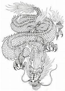 Ausmalbilder Japanische Drachen Pin Auf Drachen