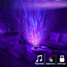 Colorful Lights For Your Room Newest Design Remote Control Ocean Wave Projector 12 Led