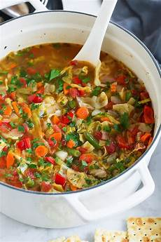 cabbage soup cooking