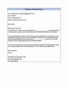 Business Email Template 30 Professional Email Examples Amp Format Templates